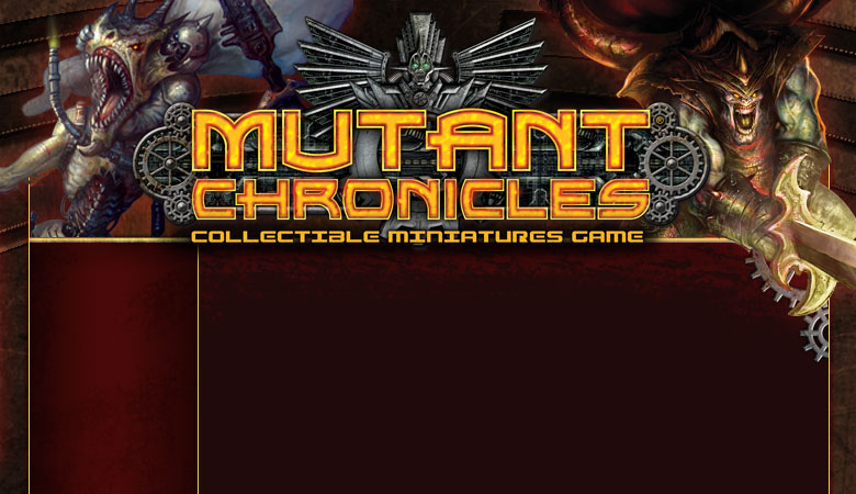 Mutant Chronicles-Collectible Miniatures Game