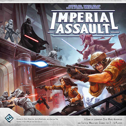 Star Wars: Imperial Assault (engl. & dt.)