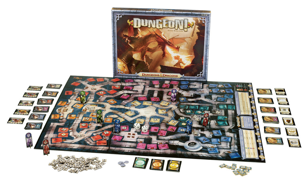 Dungeons & Dragons - The Boardgames