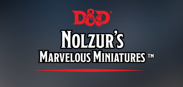 D&D: Nolzur's Marvelous Unpainted Miniatures