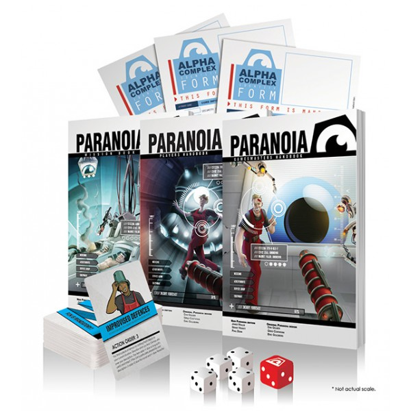 Paranoia Red Clearance (and Older Editions)